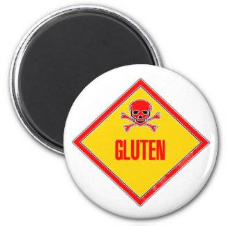 Gluten Poison Warning Magnet