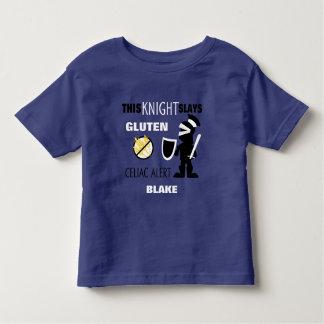 Gluten Slaying Knight Celiac Alert Shirt