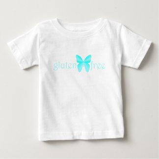 glutenfree-mariposa playera de bebé