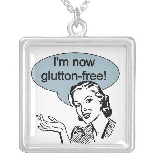Glutton de dieta chistoso libremente colgante personalizado