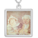 Gluttons, c.1800-05 personalized necklace
