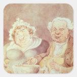 Gluttons, c.1800-05 sticker