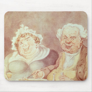 Gluttons, c.1800-05 tapetes de ratones