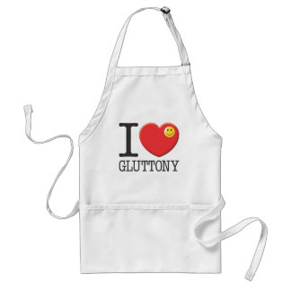 Gluttony Adult Apron