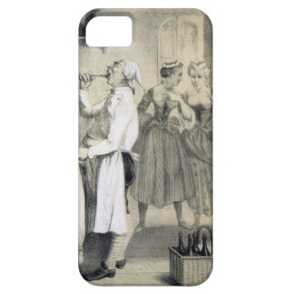 Gluttony in the Kitchen, from a series of prints d iPhone SE/5/5s Case