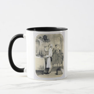 Gluttony in the Kitchen, from a series of prints d Mug