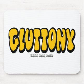 Gluttony Thick Logo Mousepad