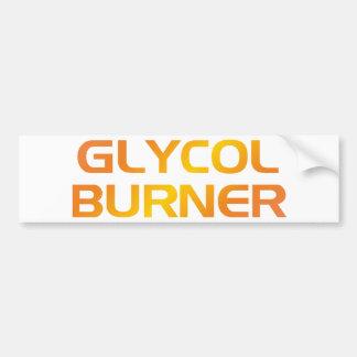 Glycol more burner bumper sticker