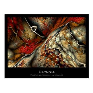Glynnia Abstract Fractal Artist Card
