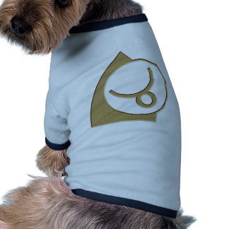 Glyph del zodiaco de la astrología del tauro +rega ropa para mascota