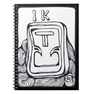 Glyph maya cuadernos