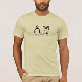 Glyph New Mexico 1 T-Shirt