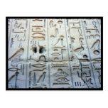 glyphs del karnak postales