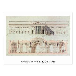 Glyptotek In Munich By By Leo Klenze Postcard