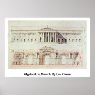 Glyptotek In Munich By By Leo Klenze Print