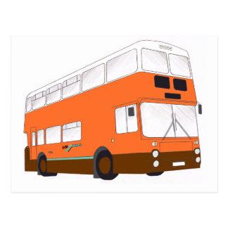 GM Buses Northern Counties Leyland Atlantean 1986 Postcard