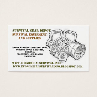 gm drawing.gif 2, Survival Gear Depot, Survival... Business Card