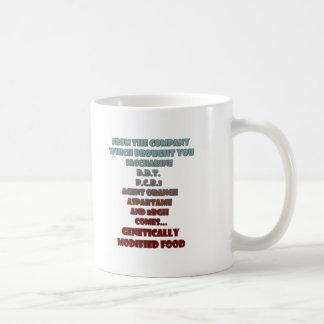 GM Food Coffee Mugs