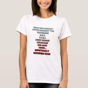 GM Food T-Shirt