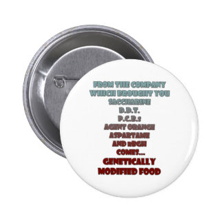 GM Foods Buttons