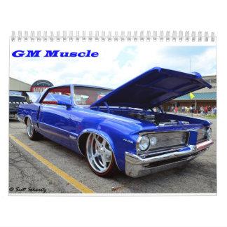 GM Muscle 2015 Calendar