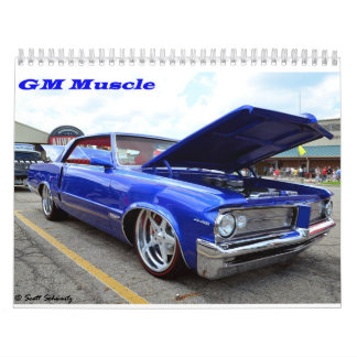GM Muscle 2016 Calendar