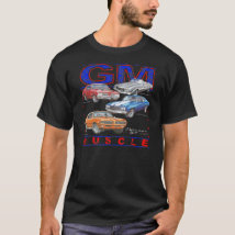 GM Muscle Cars T-Shirt