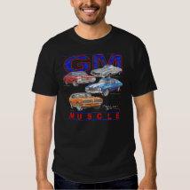 GM Muscle Cars Tee Shirt