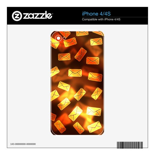 Gmail Email Envelope iPhone 4 Decal