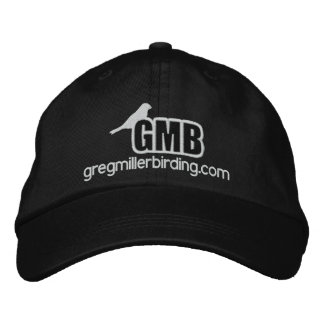 GMB basic embroidered logo hat with double stitch