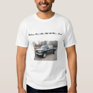 """gmc_canyon, Washinton Don""""t Mess With A Man's T... Tshirt"""