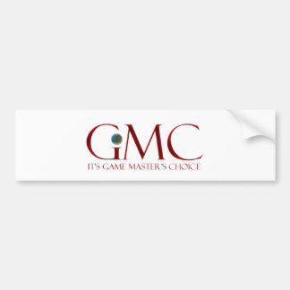 GMC - It's Game Master's Choice Bumper Stickers