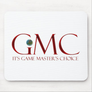 GMC - It's Game Master's Choice Mouse Pad