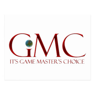GMC - It's Game Master's Choice Postcard