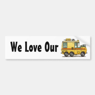 GMC Motor Home RV Bumper Sticker