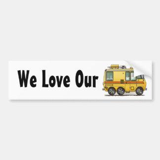 GMC Motor Home RV Bumper Sticker