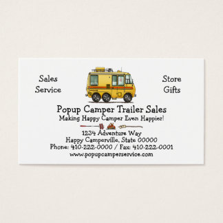 GMC Motor Home RV Business Card