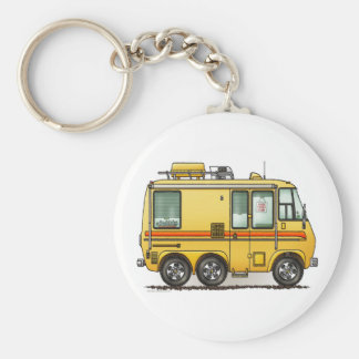 GMC Motor Home RV Keychain