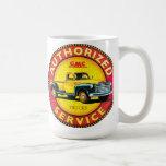 GMC pickup truck service sign Classic White Coffee Mug