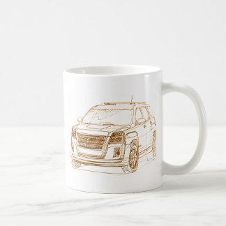 GMC Terrain 2010 Classic White Coffee Mug