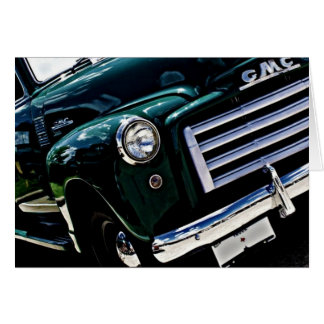 GMC  Truck Greeting Card