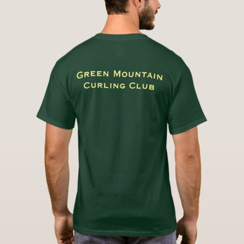 GMCC Dark Green T_shirt mens