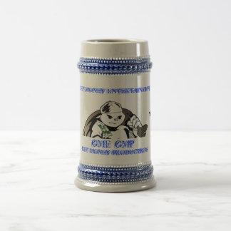 GME/GMP WHITE/BLUE MUG
