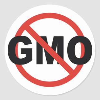 GMO CLASSIC ROUND STICKER