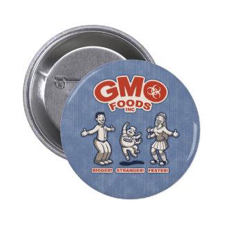 GMO Foods 2 Inch Round Button