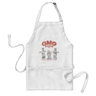 GMO Foods Adult Apron
