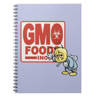 GMO Foods Inc -Bee Spiral Note Book