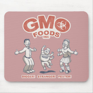 GMO Foods Mouse Pad