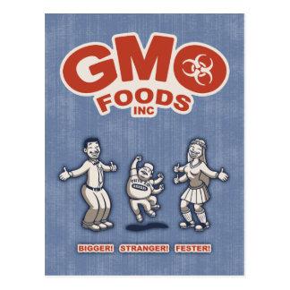 GMO Foods Postcard
