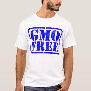 GMO Free - Blue T-Shirt